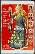 """Movie Posters:Western, The Light in the Forest (Buena Vista, 1958). One Sheet (27"""" X 42"""").Western...."""