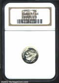 Proof Roosevelt Dimes: , 1953 10C PR 68 Cameo NGC. ...