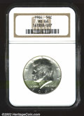 Kennedy Half Dollars: , 1964 50C MS66 NGC. Mintage: 273,300,000. The latest Coin World...