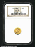 Commemorative Gold: , 1922 $1 Grant with Star MS66 NGC. Mintage: 5,016. The latest ...