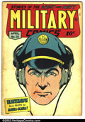 Golden Age (1938-1955):War, Military Comics #38 (Comic Magazines, 1945). Condition: VG....