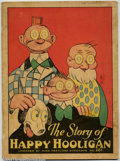 """Platinum Age (1897-1937):Miscellaneous, Story of Happy Hooligan #281 (McLoughlin Bros., Inc., 1932). 12"""" x9 1/2"""", three-color pictures, text story, on heavy paper...."""