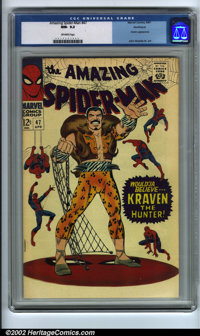 The Amazing Spider-Man #47 Northland pedigree (Marvel, 1967). CGC NM- 9.2, off-white pages. Northland collection. Overst...
