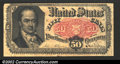 Fractional Currency:Fifth Issue, Fifth Issue 50c, Fr-1381, Fine. There is a tiny split in the bo...