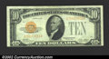 Small Size:Gold Certificates, 1928 $10 Gold Certificate, Fr-2400, XF. ...