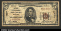 National Bank Notes:Maryland, Baltimore, MD - $5 1929 Ty. 1 National Central Bank of Ba...