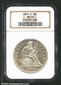 "Seated Dollars: , 1846-O $1 MS60 NGC. Mintage: 59,000. The latest Coin World ""T..."