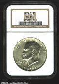 Eisenhower Dollars: , 1974-S $1 Silver MS66 NGC. Mintage: 1,900,156. The latest Coi...