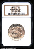 Commemorative Silver: , 1923-S 50C Monroe AU50 NGC. Mintage: 274,077. The latest Coin ...