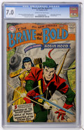 Silver Age (1956-1969):Superhero, The Brave and the Bold #12 (DC, 1957) CGC FN/VF 7.0 Cream to off-white pages....