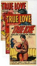 """Golden Age (1938-1955):Romance, My True Love #65-67 Group - Davis Crippen (""""D"""" Copy) pedigree (FoxFeatures Syndicate, 1949) Condition: Average FN/VF.... (Total: 3)"""