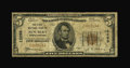 National Bank Notes:North Carolina, New Bern, NC - $5 1929 Ty. 1 The First NB Ch. # 13298. Talk about short lived...this bank came and went within seven mon...