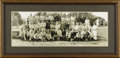 Baseball Collectibles:Photos, 1929 New York Yankees Panoramic Photograph. Though Murderer's Rowwould take a backseat to Connie Mack's second great Phila...