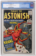 Silver Age (1956-1969):Horror, Tales to Astonish #14 (Marvel, 1960) CGC VF- 7.5 Off-whitepages....