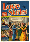 "Golden Age (1938-1955):Romance, Pictorial Love Stories #1 Davis Crippen (""D"" Copy) pedigree (St. John, 1952) Condition: VG+...."