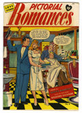 "Golden Age (1938-1955):Romance, Pictorial Romances #8 Davis Crippen (""D"" Copy) pedigree (St. John,1951) Condition: VF-...."