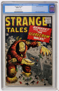 Silver Age (1956-1969):Adventure, Strange Tales #81 (Marvel, 1961) CGC FN/VF 7.0 Cream to off-white pages....