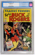 Golden Age (1938-1955):Science Fiction, Famous Funnies #209 (Eastern Color, 1953) CGC VG/FN 5.0 Cream tooff-white pages....