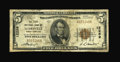 National Bank Notes:North Carolina, Leaksville, NC - $5 1929 Ty. 1 The First NB Ch. # 12259. Small notes from this one bank location are considerably scarce...