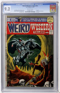 Bronze Age (1970-1979):Horror, Weird Western Tales #12 (DC, 1972) CGC NM- 9.2 Off-white pages....