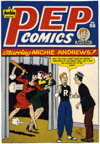 Al Fagaly - Pep Comics #58 Publisher's Cover Proof (Archie, 1945)