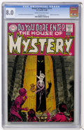 Silver Age (1956-1969):Horror, House of Mystery #174 (DC, 1968) CGC VF 8.0 Cream to off-whitepages. ...