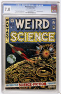 Golden Age (1938-1955):Science Fiction, Weird Science #11 (EC, 1952) CGC FN/VF 7.0 Cream to off-whitepages....