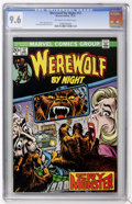 Bronze Age (1970-1979):Horror, Werewolf by Night #12 (Marvel, 1973) CGC NM+ 9.6 Off-white to whitepages....