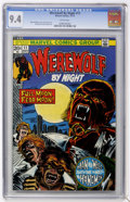 Bronze Age (1970-1979):Horror, Werewolf by Night #11 (Marvel, 1973) CGC NM 9.4 White pages....