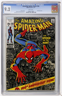 The Amazing Spider-Man #100 (Marvel, 1971) CGC NM- 9.2 White pages