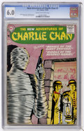 Silver Age (1956-1969):Mystery, The New Adventures of Charlie Chan #2 (DC, 1958) CGC FN 6.0 Creamto off-white pages....