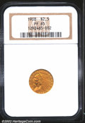 Proof Indian Quarter Eagles: , 1908 $2 1/2 PR65 NGC. The official mintage for proof 1908 ...