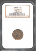 Patterns: , 1859 Indian Cent, Judd-228, Pollock-272, R.1, MS66 NGC....
