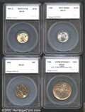 Additional Certified Coins: , 1925 5C Nickel MS65 SEGS (MS63), full luster with streaky russ...