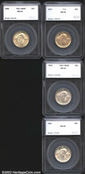 Additional Certified Coins: , 1917 Type Two Quarter SEGS (MS60 Cleaned), a nice strike with v...
