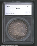 Additional Certified Coins: , 1800 $1 Silver Dollar AU50 SEGS (XF45). B-12, BB-184, R....