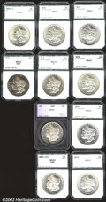 Additional Certified Coins: , Group of PCI (unless noted) Dollars: 1878 8TF $1 MS63 (MS61),...