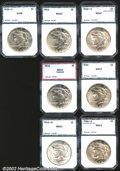 Additional Certified Coins: , PCI Certified Dollars: 1922-S $1 MS60 (AU58); 1926 MS63 (MS62...
