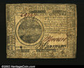 Colonial Notes:Continental Congress Issues, Continental Currency July 22, 1776 $7 Very Fine. A perfect ...