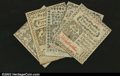 Colonial Notes:Connecticut, Connecticut October 11, 1777 2d, 3d, 4d, 5d and 7d. All fiv...