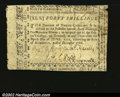 Colonial Notes:North Carolina, North Carolina December 1768 40s Choice Very Fine. One or t...