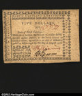 Colonial Notes:North Carolina, North Carolina August 8, 1778 $5 Choice About New. This not...