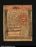 Colonial Notes:Pennsylvania, Pennsylvania March 20, 1771 15s Choice Extremely Fine. This...