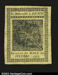 Colonial Notes:Pennsylvania, Pennsylvania October 25, 1775 2s Gem New. A lovely, well ma...
