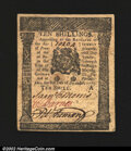 Colonial Notes:Pennsylvania, Pennsylvania December 8, 1775 10s About New. Just about as ...
