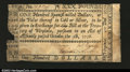 Colonial Notes:Virginia, Virginia October 5, 1778 $100 Very Fine. There are a few in...