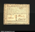 Colonial Notes:Virginia, Virginia March 1, 1781 $50 Extremely Fine. There are a few ...