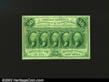 Fractional Currency:First Issue, Fr. 1312 50¢ First Issue Superb Gem New. This note has perf...