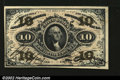 Fractional Currency:Third Issue, Fr. 1254 10¢ Third Issue Very Choice New. The bottom and le...