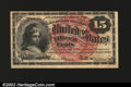 Fractional Currency:Fourth Issue, Fr. 1267 15¢ Fourth Issue Choice New. A lovely example with...